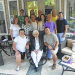 Elan Gardens resident Esther H. Keisling celebrates 105th birthday