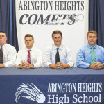 Abington Heights graduates to continue football careers in college