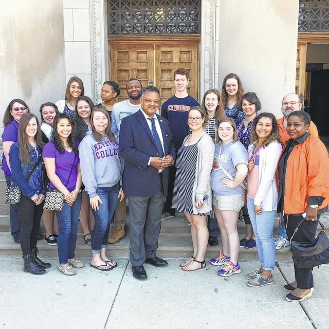 Several Keystone College students recently visited the city of Chicago ...