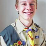 John Marc Olevnik named Eagle Scout