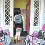 Area youths receive back to school gifts from Prudential at Children's Advocacy Center