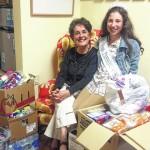 Miss Pennsylvania International Junior Miss Preteen Nina Sampogne presents donations to Children's Advocacy Center