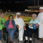 Residents of Holy Family Residence attend Third Annual Little Sisters of the Poor Night at PNC Field