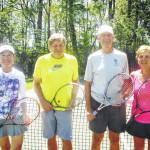 High schoolers win Scranton Tennis Club Mixed Doubles Championship
