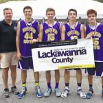Abington area athletes help team win 3 on 3 basketball championship