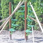 Factoryville volunteers help install playground equipment at Christy Mathewson Park