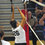 Strong serves help Abington Heights defeat Mountain View in girls volleyball match