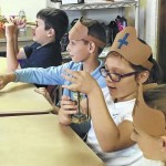 Abington Christian Academy students explore history with 'Christopher Columbus'