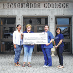Continuing Education Department at Lackawanna College donates to Griffin Pond Animal Shelter