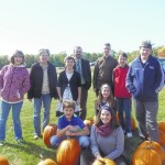 Countryside Community Church Youth Ministries sells pumpkins for mission trip