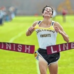 H.S. Cross Country: Dominic Hockenbury crushes Elk Lake course at District 2 Championships