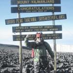 Former Dalton Mayor Mickey Ameigh climbs Mount Kilimanjaro