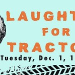 Barry Kaplan and Everything Natural to present Laughter for Tractors fundraiser for Indraloka Animal Sanctuary on Giving Tuesday