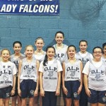 Our Lady of Peace sixth grade-girls basketball team ends season with winning record of 7-1