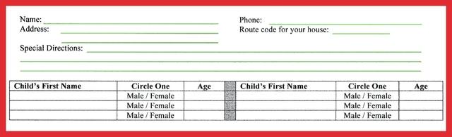 Santa Claus schedules home visits with Abington Lions Club, request deadline is Dec. 5
