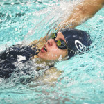 Abington Heights sophomore swimmer Laura Hartman continues to improve
