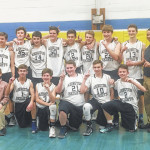 Abington Heights eighth-grade boys basketball team claims Lackawanna League North Division Championship