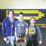 Abington Heights wrestlers perform well at Coal Cracker Tournament