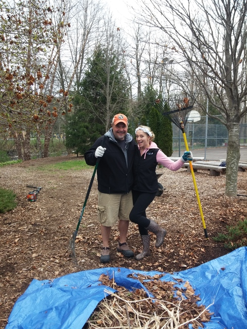 Volunteers pitch in to clean up Christy Mathewson Park in Factoryville in honor of Arbor Day