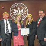 Abington area business owners recognized by Lackawanna County Commissioners