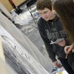 Keystone College Art Society holds 24-hour Draw-a-Thon fundraiser for The Gathering Place