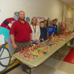 Lackawanna Trail Elementary Center students use imaginations to design model playground