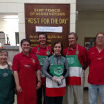 Scranton Chapter of UNICO National members volunteer at St. Francis of Assisi soup kitchen