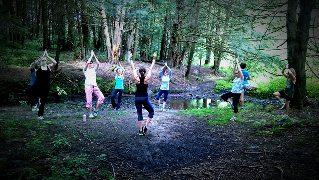 Jaya Yoga, Lackawanna Heritage Valley National and State Heritage Area partner to present Explorer Yoga on the Trail June 5