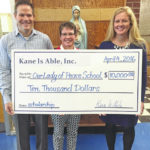 Our Lady of Peace School receives EITC donation from Kane Is Able