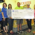 Keystone Community Resources supports the Dietrich Theater with $3,000 donation from golf fundraiser