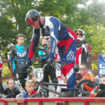 Young riders learn from national champion at Cedar BMX clinic