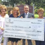 Wilkes-Barre Academy receives EITC donation from Landmark Community Bank