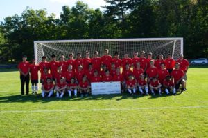 Abington Heights, Honesdale boys soccer teams raise money to fight cancer