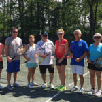 Scranton Tennis Club holds Mixed Doubles Championships