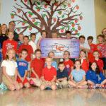Lakeland Elementary schools raise $1,500 for Ryan's Run through Color Run