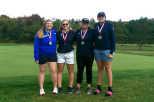Lakeland High School girls golf team finishes second in district tournament