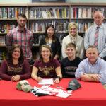 Lackawanna Trail High School's field hockey star Lauren Baldwin commits to play at Kutztown University