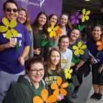 Marywood University students participate in Walk to End Alzheimer's