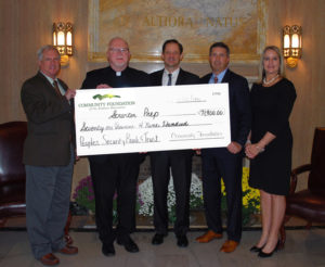 Peoples Security Bank and Trust provides more than $71,000 in scholarship assistance to Scranton Prep students