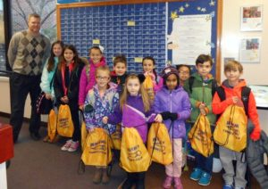Waverly Elementary School students recognized through Comet Club Program