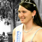 Wyoming/Lackawanna County Dairy Princess RaeAnne Carpenter honors memory of predecessor Brianna Smarkusky