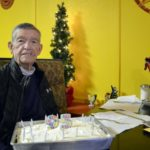 Clarks Green resident Jeff Gallagher celebrates 95th birthday with breakfast at Sunrise Cafe