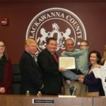 Lackawanna County Commissioners recognize Clarks Summit boy for 'Good Works'