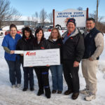 Kanuik Oil Company donates to Griffin Pond Animal Shelter