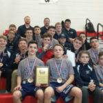 Abington Heights junior high wrestling team wins Lackawanna League title