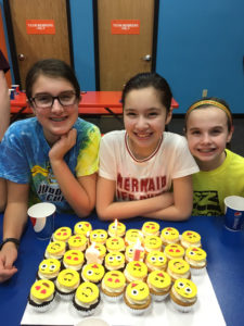 Three Abington Heights Middle School students donate $600 to Ronald McDonald House of Scranton in honor of their birthdays