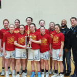 My Team: Our Lady of Peace girls varsity team celebrates tournament wins