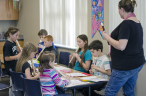 Home-schooled students learn to read music, play soprano recorder at Abington Community Library