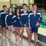 Abington Heights swim coach pleased with team's district performance