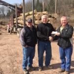 Assisting Loggers Immediately Fund Trust receives donation from Penn-York Lumbermen's Club